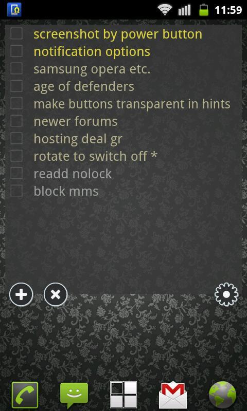 To Do List Widget Lite screenshot 1