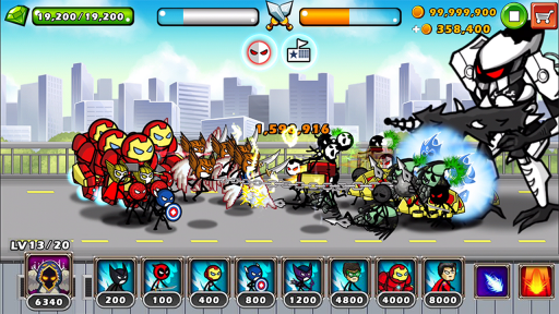 HERO WARS: Super Stickman Defense screenshot 4