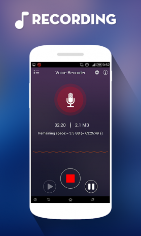 Audio Recorder PRO 2 8 9 Download APK for Android - Aptoide