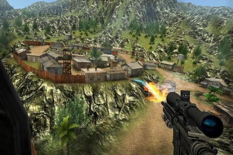 Sniper Ops 3D - Shooting Game screenshot 20
