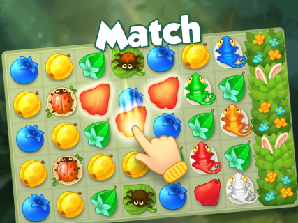 Bloomberry — match-3 design story makeover of home screenshot 18
