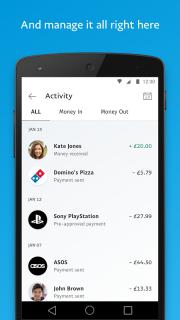 PayPal screenshot 1