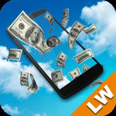 Falling Money Live Wallpaper Icon