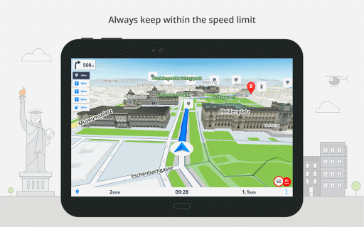 GPS Navigation & Maps Sygic screenshot 5