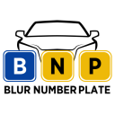 Blur Car Number Plate Automatically