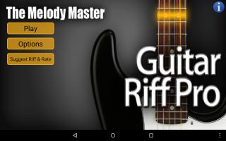 Guitar Riff Pro Screen