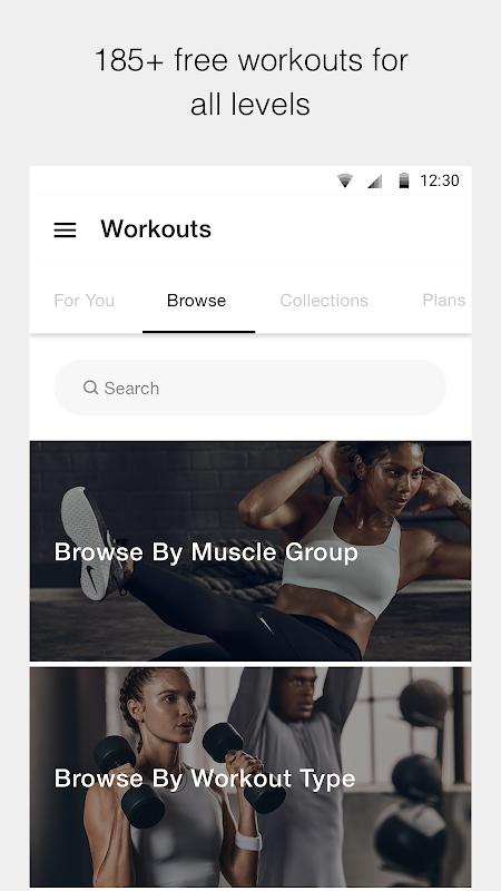 Nike Training Club - Workouts & Fitness Plans screenshot 2