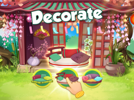 Bloomberry — match-3 design story makeover of home screenshot 2