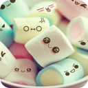 Candy Face C Launcher Theme