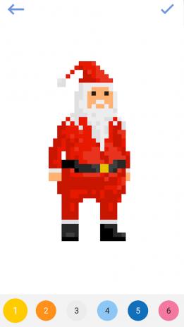 Pixel Art Sayılarla Boyama Boyama Sayfaları 23 Android