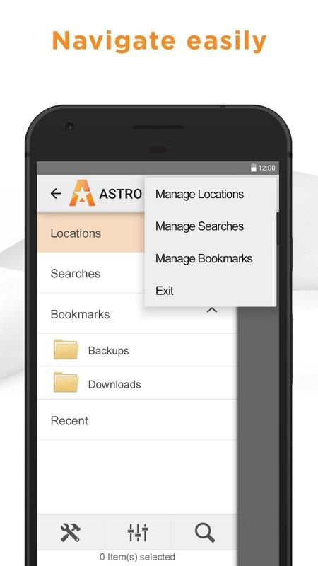 ASTRO File Manager BETA screenshot 2
