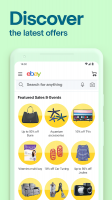 eBay - Buy, sell and save. Discover deals now! Screen