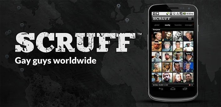 Scruff gay guys worldwide