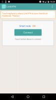 LinkVPN Free VPN Proxy Screen