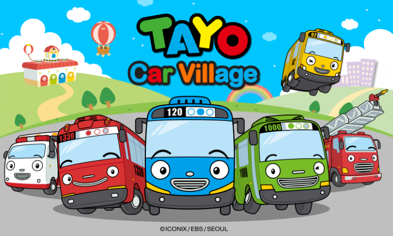 Tayo Car Village Screenshot