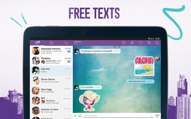 download viber-calls and messages free