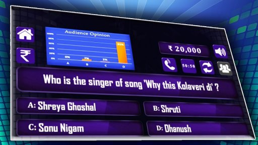 New KBC 2018: Hindi & English Crorepati Quiz screenshot 5