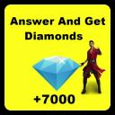 Quiz Free ╤ Fire Get Diamonds 2021