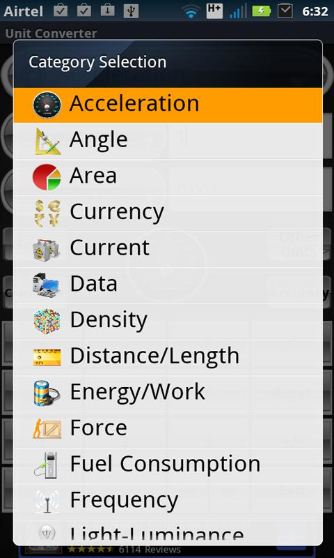 Unit Converter screenshot 2