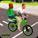 BMX Bicycle Taxi Driving: City Transport