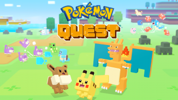 Pokémon Quest Screen