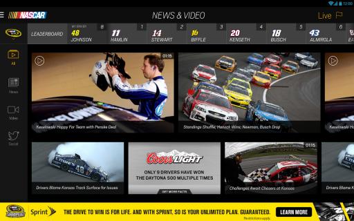 NASCAR MOBILE screenshot 2