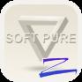 soft pure theme zero launcher आयकॉन