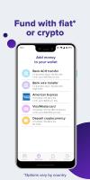 Abra: Bitcoin, XRP, LTC Screen