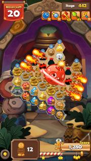 Monster Busters: Hexa Blast screenshot 1