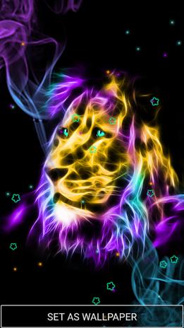 Neon Tiere Tapeten Bewegte Hintergrunde 2 5 Laden Sie Apk