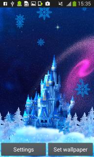 Snowfall Live Wallpapers screenshot 5