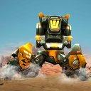 Futuristic Robot Transforming Wars
