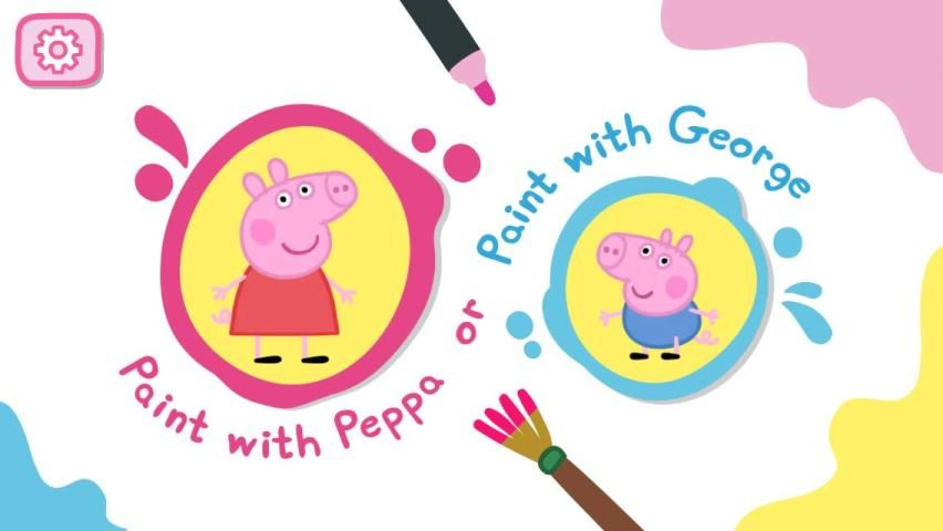 Peppa Pig: Paintbox screenshot 1