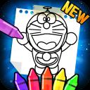 dora coloring monmoon game