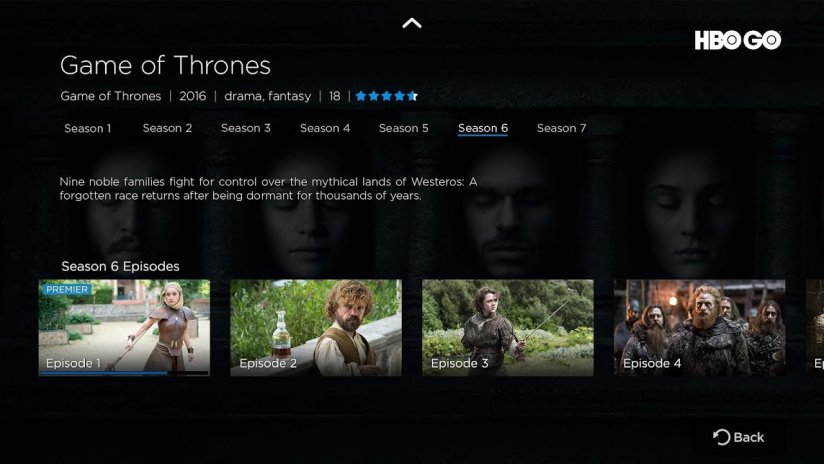 HBO GO - Android TV 5 11 4 Download APK for Android - Aptoide