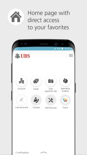 UBS Mobile Banking: e-banking for on the go screenshot 1
