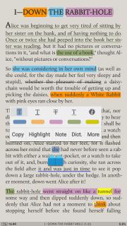 Moon+ Reader screenshot 2