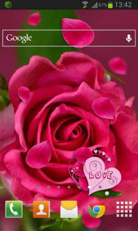 rose love live wallpaper screenshot 1 rose love live wallpaper screenshot 2 ...