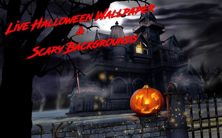Halloween Live Backgrounds Scary Wallpapers Hd 7