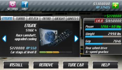 drag racing screenshot 6