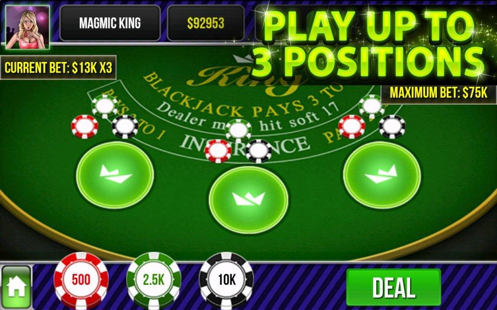 Take down blackjack