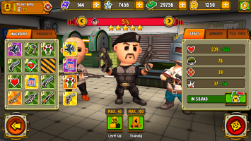Pocket Troops: Strategy RPG Screen
