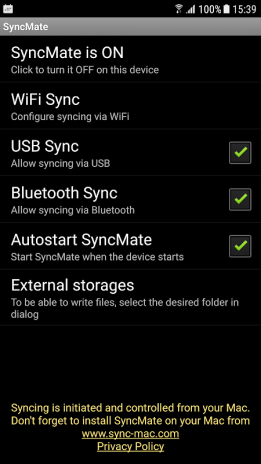 SyncMate for Android 1 0 98 Download APK for Android - Aptoide