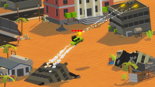 Tanks VS Cars Battle screenshot 3