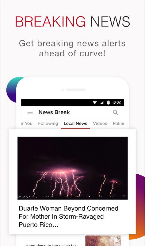 News Break:Discovering & Delivering Your Interests screenshot 2