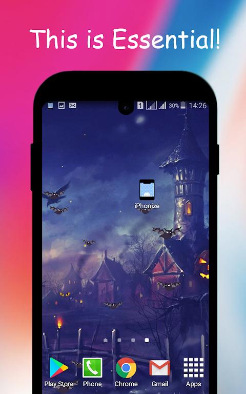iPhonize | Notch for iPhone X, S10 | Xs Theme screenshot 2