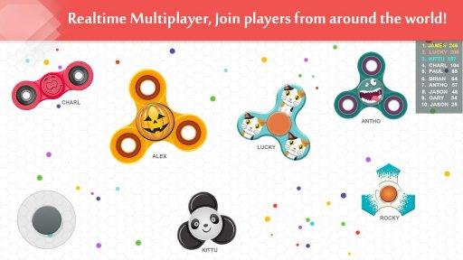 Fidget Spinner .io game screenshot 4