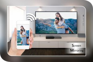 Screen Mirroring with TV : Mobile Screen to TV Screen