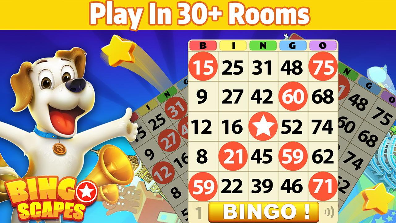Bingo Scapes - Lucky Bingo Games Free to Play screenshot 1