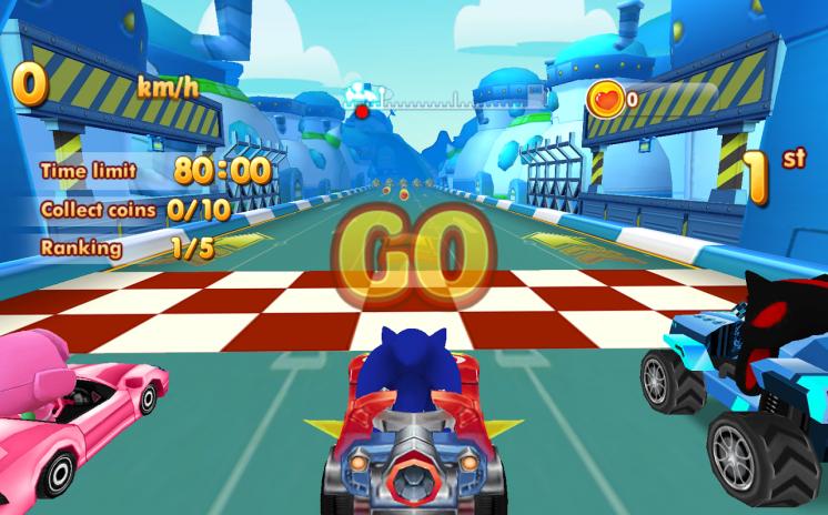 Sonic Chibi Race 3d Free Kart Car Racing Game 1 2 23 Download Apk